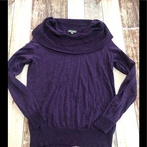 Roz & Ali cowl neck sweater size XL
